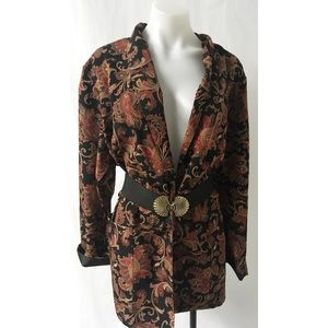 Black & Gold Blazer Size XL